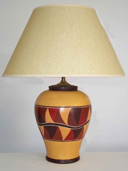 Pottery Table Lamp