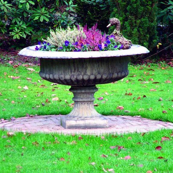 Large Staffordshire Vase Garden Ornament