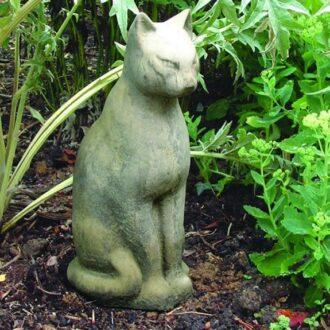 Large Tomb Cat Garden Ornament