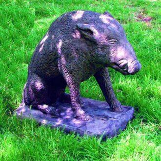Boar Garden Statue Garden Ornament