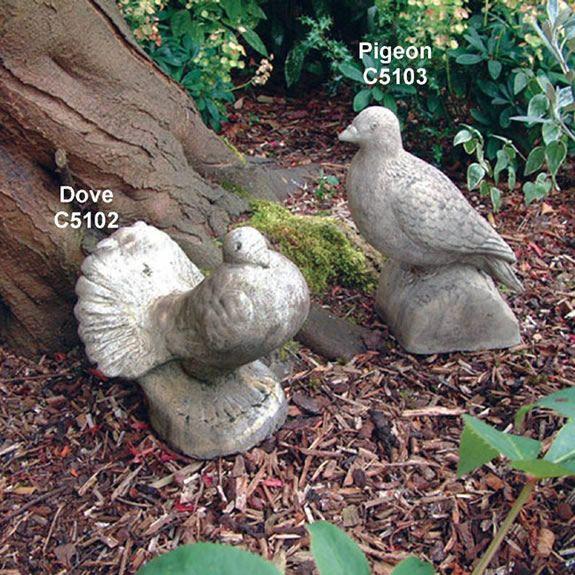 Dove Statue Garden Ornament