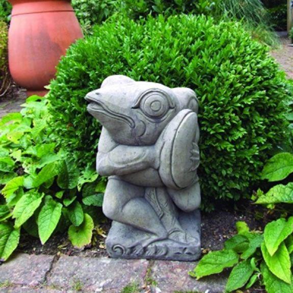 Musical Frog Garden Statue Garden Ornament