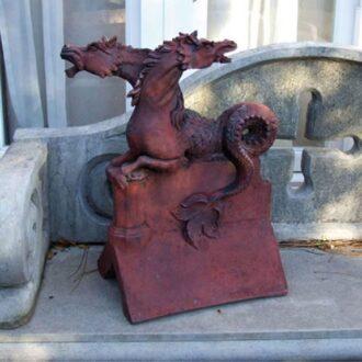 Janus Horse Garden Ornament