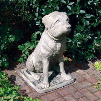 Mastiff Garden Statue Garden Ornament