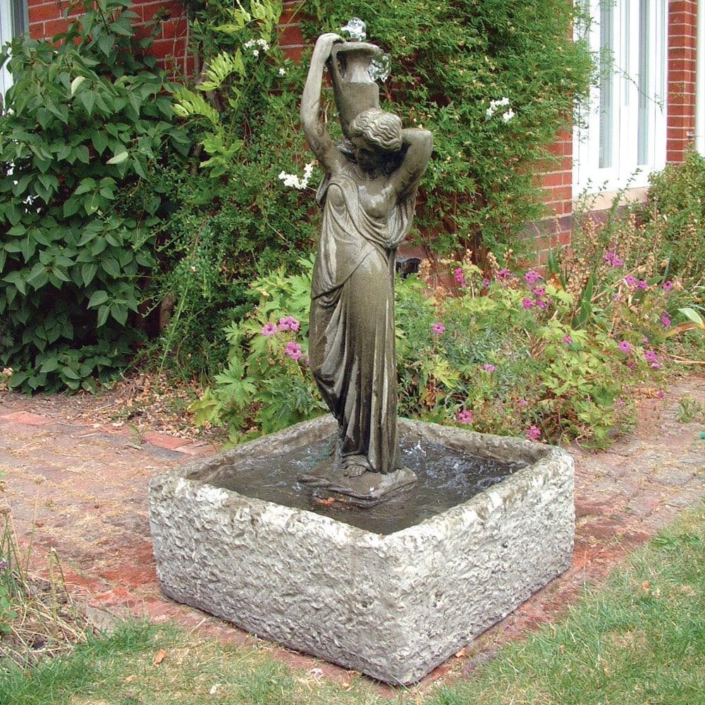 Square Reservoir Garden Ornament